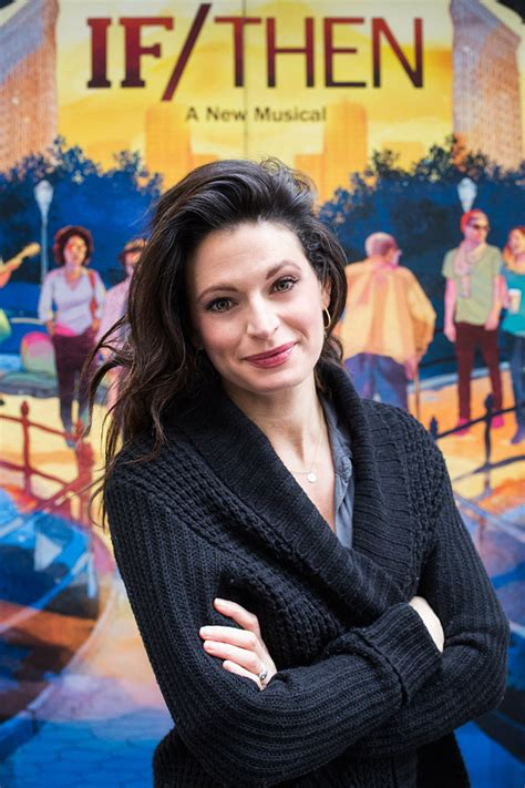 jackie burns jackie burns on being mistaken for idina learning to love