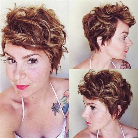 will a short haircut make my hair thicker best 25 curly pixie ideas on pinterest pixie cut curly