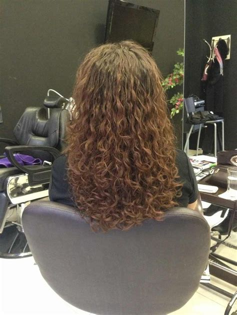 pictures of spiral perms on long hair long spiral perm hair dos pinterest