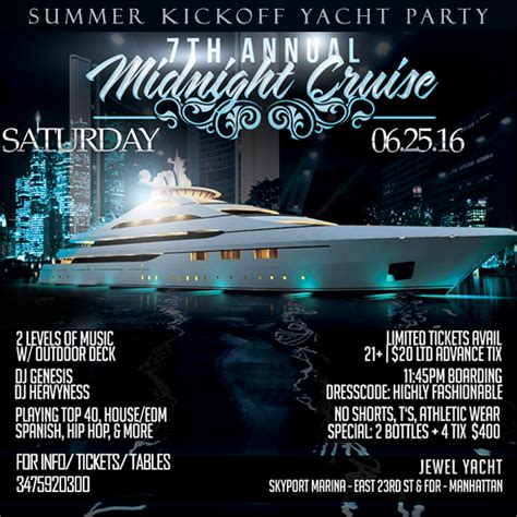 boat party nyc july party tickets