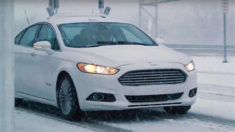 ford 2020 driverless ford tests its autonomous in bad weather gadget