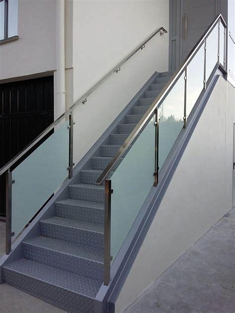 barandillas de terraza barandilla de acero inoxidable y vidrio para terraza