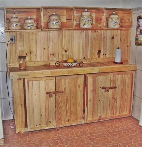 Kitchen Cabinets Made Out Of Pallets 20 Inspired Wood Pallet Ideas Pallet Ideas Recycled Upcycled Pallets Furniture Projects
