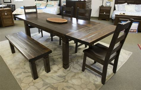 Harvest Dining Room Table Reclaimed Harvest Table Dining Room Furniture Oak Things