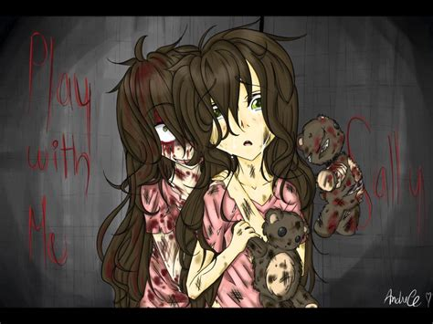 Scary Stories Play For Me creepypasta sally play with me voice fandub