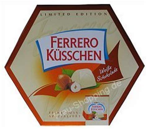 ferrero küsschen kuchen ferrero k 252 sschen wei 223 e schokolade