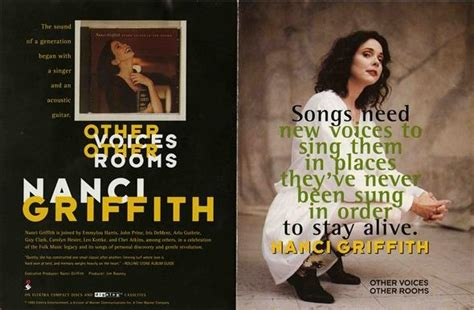 Nanci Griffith Other Voices Other Rooms by Nanci Griffith Other Voices Other Rooms The Falcon S