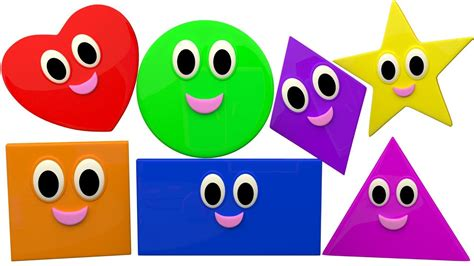 shapes and colors song the shapes song nursery rhymes songs for children learn