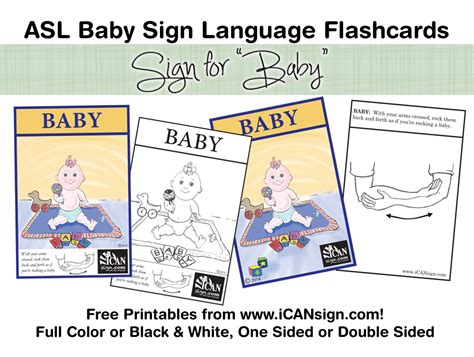 printable flashcards for babies 9 best images of baby sign language printable baby sign