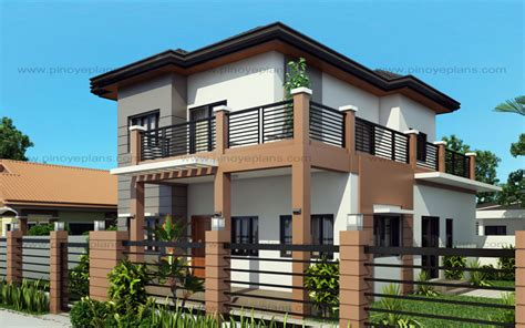 home design 3d balcony marcelino four bedroom two storey mhd 2016021 eplans