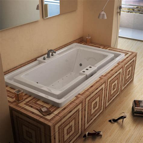 endless bathtub atlantis tubs 4678idl infinity 46 x 78 x 23 inch endless