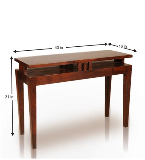 multi purpose table sheesham wood multi purpose table by mudra