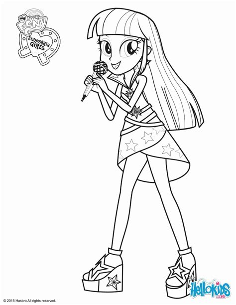 pony coloring page pdf my little pony coloring pages twilight sparkle az