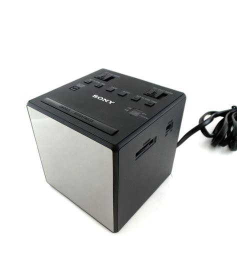 sony icf c1t alarm clock radio fm am dual alarm dst black ebay