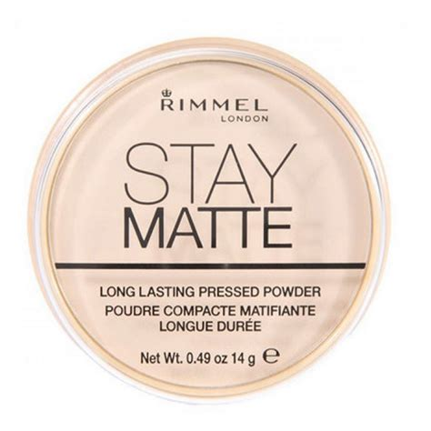 Rimmel Matte Powder rimmel stay matte pressed powder 001 transparent 14 g 2