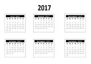 6 month calendar template 2017 6 month template free craft downloads