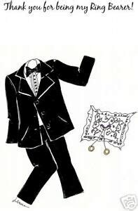 What To Write In A Ring Bearer Thank You Card