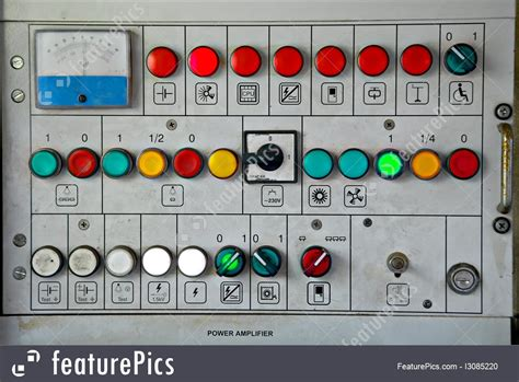 control panel buttons image