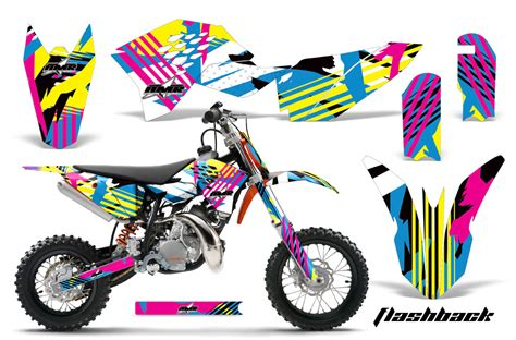 motocross bike stickers 2009 2015 ktm sx50 graphics kit over 40 designs
