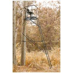 guide gear 16 swivel ladder tree stand 663255 ladder
