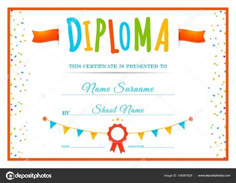 Diplomas Escolares Infantiles Para Ni 241 Os Para Imprimir Y | diplomas infantiles diplomas y certificados infantiles