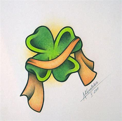 clover tattoo design 77 tattoos shamrock clover cross claddagh