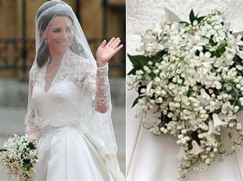 Wedding Bouquet Of Kate Middleton by Anche A Distanza Di Tempo Il Bouquet Di Kate Middleton
