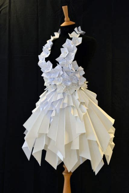 Paper Dresses - paper dresses 15 08 cardiff and design foundation