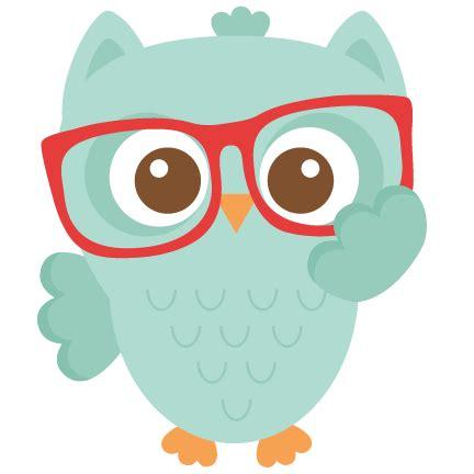 nerdy owl scrapbook cuts svg cutting files doodle cut