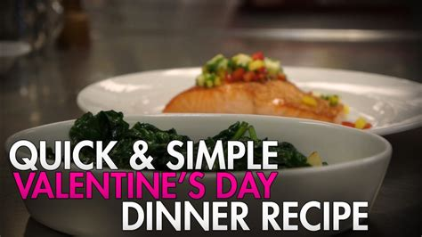easy valentines day meals s day recipe salmon dinner askmen