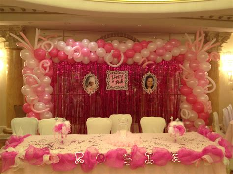 Sweet 16 Decoration Ideas Home by Balloon Decorations Birthday Favors Ideas