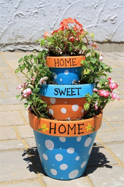 how to decorate a pot at home clay pot crafts ideas and inspirations