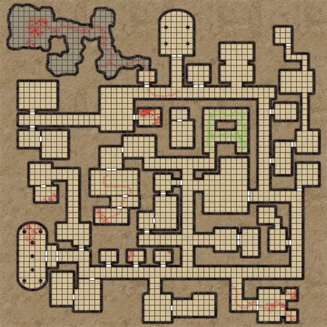 Castle House Floor Plans by Strolen S Citadel Dungeon Maps In Profile By Mageek