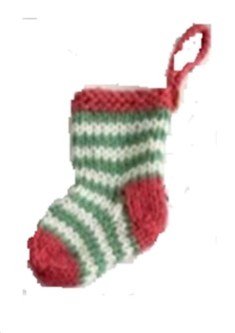 knitting pattern for small xmas stocking knit how to free mini christmas stocking pattern