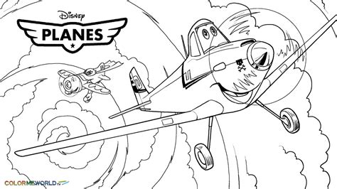 free coloring pages of planes 2 disney