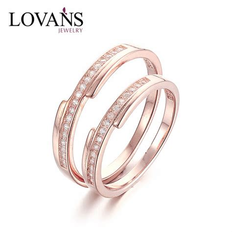 wedding rings new models 925 sterling silver new model wedding ring set