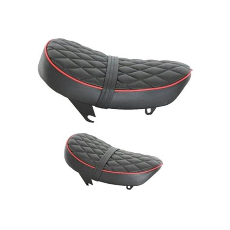 seat monkey kepspeed low black with piping