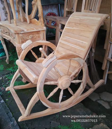 Kursi Goyang Roda kursi goyang kayu jati model dokar kursi goyang kaki dokar sofa goyang mewah kursi goyang kayu