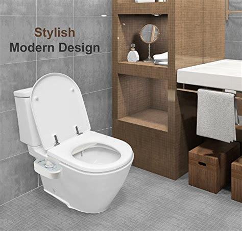Electric Bidet Toilet Seat Attachment by Greenco Bidet Fresh Water Spray Non Electric Mechanical