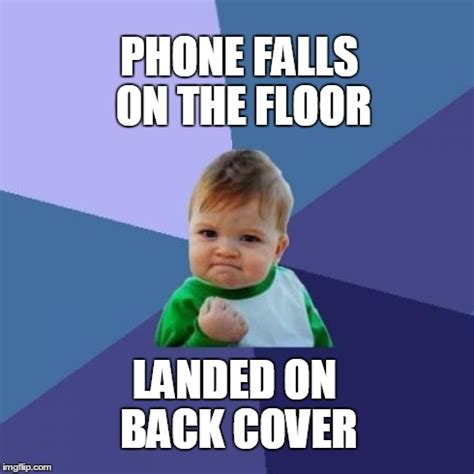 Kid On Phone Meme - success kid meme imgflip