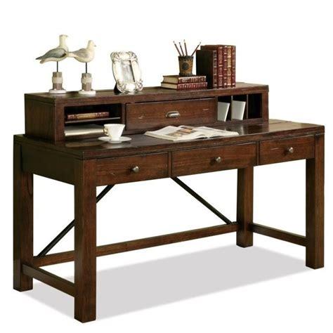 Riverside Furniture Castlewood Writing Desk With Hutch In Writing Desk With Hutch