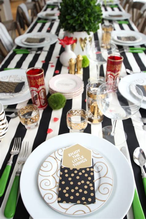 black and white dinner table setting black and white dinner table setting setting the table