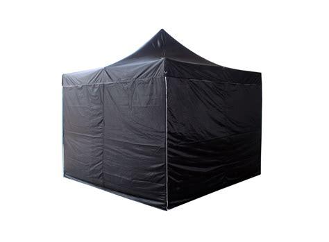 black gazebo buy 3x3m popup gazebo tent marquee black at