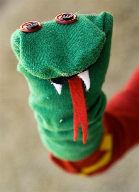 a sock puppet snake momentary madness journal