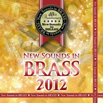 special songs 2012 第40集 ニュー サウンズ イン ブラス 2012