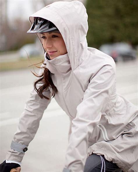 raincoat for bike riders lululemon ride on rain jacket for those spring days