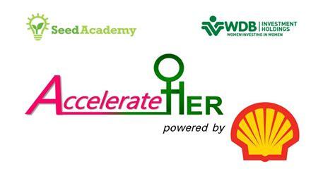 Shell Mba Program by Shell Accelerateher Program 2017 For Entrepreneurs
