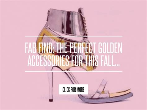 The Golden Accessories For This Fall fab find the golden accessories for this fall