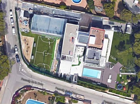 casa di messi desde el aire as 237 es la casa de lionel messi en barcelona