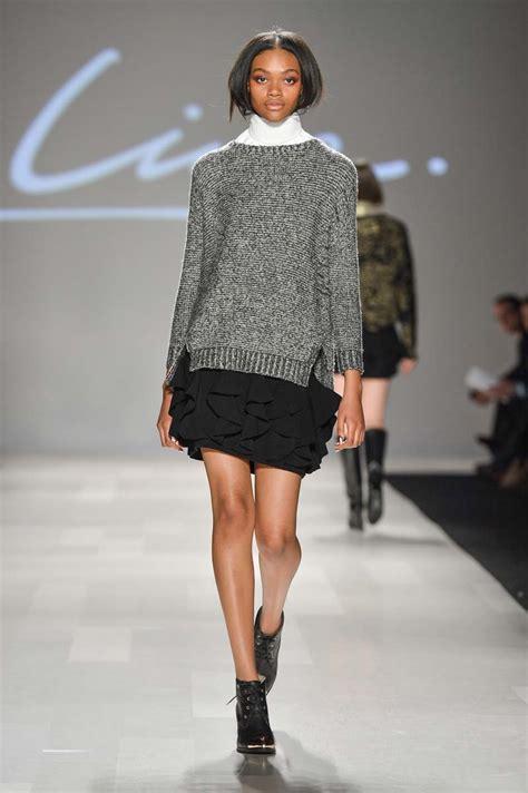 knit fashion line knitwear at world mastercard fashion week